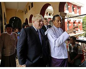 UK-Foreign-Secretary-Visited-Myanmar-for-Talks