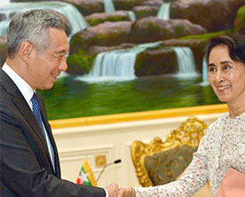 Myanmar-Singapore-to-Boost-Bilateral-Economic-Cooperation