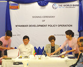Myanmar-and-World-Bank-Sign-Agreement-to-Help-with-Union-Budget-