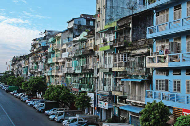 Image result for Yangon Apartment