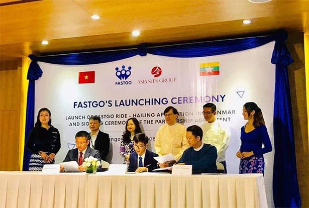 FastGo Official Launch in Myanmar Market - Myanmar InsiderMyanmar